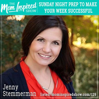 Sunday night prep to make your week successful: Jenny Stemmerman: 129
