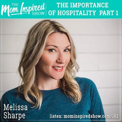 The importance of hospitality part 1 : Melissa Sharpe: 162