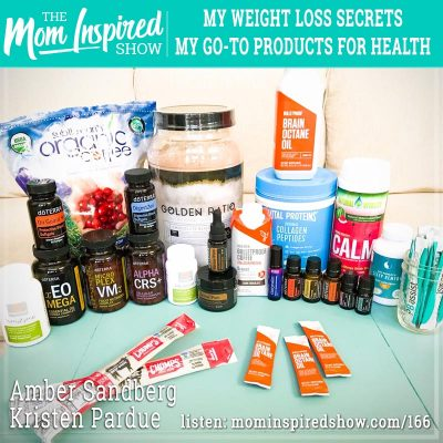 My weight loss secrets, my go-to products for health: Amber Sandberg, Kristen Pardue:166