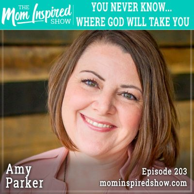 You never know where God will take you – Amy Parker: 203