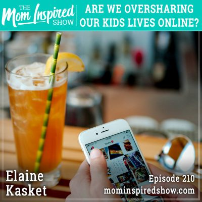 Are we oversharing our kids lives online? Elaine Kasket: 210
