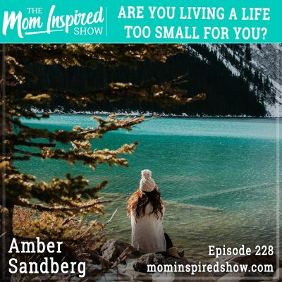 Are you living a life too small for you? : Amber Sandberg: 228