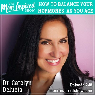 How to balance your hormones as you age: Dr. Carolyn Delucia: 248